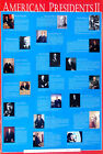 American Presidents Part II 24x36 Print CLEVELAND to CLINTON 1885-1996 Poster