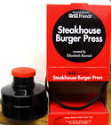 STEAKHOUSE BURGER PRESS - PERFECT UNIFORM PATTY - NEW