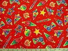 Cloth Works CHRISTMAS CARNIVAL FABRIC