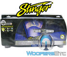 STINGER SHK201 NEW 1/0 GAUGE AWG AMP 3400W AMPLIFIER WIRE INSTALL CABLE CORD KIT