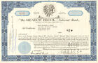 Meadow Brook National Bank New York stock certificate