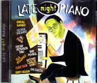 LATE NIGHT PIANO COUNT BASIE A C JOBIM DUKE ELLINGTON AND MORE NEW SEALED CD