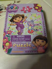 DORA THE EXPLORER 24 pc Puzzle in a TIN 3+ NEW