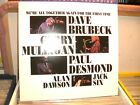 BRUBECK DESMOND MULLIGAN WE'RE ALL MFSL LP RECORD