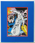 Vintage 1978 SILVER SURFER Pin up Poster Marvel MATTED