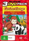 CURIOUS GEORGE Volume 1+2+3 =3-DVD SET= tv series NEW