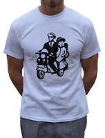 SKA T SHIRT 2 TONE SCOOTER THE SPECIALS BEAT MADNESS