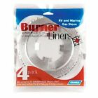 CAMCO 43800 RV STOVE BURNER LINERS - 4 PACK