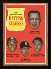 1962 Topps #051 AL Batting Leaders EX/NM *AA-2480*