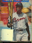 1969 Sports Illustrated: Hank Aaron - Braves 1st SI