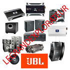 Ultimate JBL Repair, Service & Technical Manuals (PDFs manual s on DVD)