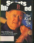 1996 Sports Illustrated: Ted Williams age 78 Boston Red Sox
