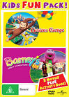 Curious George / Barney's Great Adventure New R4 Sealed