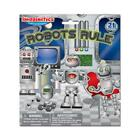 Robots Rule! Imaginetics Creative fun w/ 21 Magnets