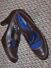 NEW WOMENS WHAT'S WHAT AERSOLES CROSS STRAP HEELS SZ 10