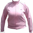 Reebok Pink Full Zipper Ladies Track Running Jogging Long Sleeve Sport Jacket