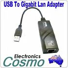 USB2.0 to LAN Ethernet RJ45 1000Mbps adapter Win7 / MAC