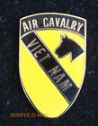 1st Air Cavalry Division Vietnam HAT LAPEL PIN UP US ARMY CAV VETERAN Helicopter