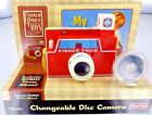 Fisher-Price Changeable Disc CAMERA with Bonus Photo Album flash snaps New NIB