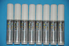 8 x WHITE Liquid Chalk Marker Pen (nip 10MM) for Board and Glass Sign Wet Wipe