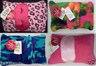 Macy's JJ Gifts 3 Piece Set Pouch with Blanket Throw with EyeMask NWT Nice gift