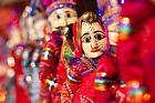 5 Pair of Rajasthani Indian Puppets Home Decorative Decore Home Decor