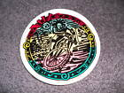 Mountain Bike Skate Rasta Medium Roundy Vintage sticker