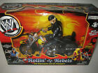 WWE Hulk Hogan wrestling figure Rollin Rebels BIKE classic superstars nWo wcw