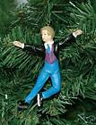 Male Ice Skater, Ice Skating Christmas Ornament