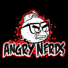FUNNY T-SHIRT!! Angry NERDS!! (Stock #290)
