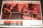 1967 DOUBLE MAN Movie Poster UK Yul Brynner
