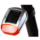 2015 Cycling bicycle LED Solar Power Bike Rear Tail Lamp Light
