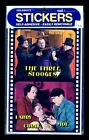 THREE STOOGES SELF-ADHESIVE STICKERS-1984-FACTORY SEALED!
