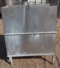 "36"" x 18"" Stainless Steel Vat with Center Drain 36"" Deep 100 Gallon on Legs"