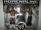 WWE Booker T Sharmell wrestling figure lot of2 Smackdown WCW DIVA toy mattel