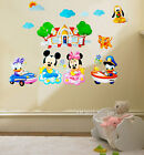 MICKEY & MINNIE; DAISY & DONALD DUCK Kids Wall Decal Sticker for Kids & Nursery