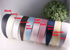 2PCS-40MM Handmade Satin plasric Headband(G103)