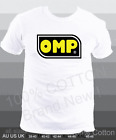 new OMP 100% Cotton short sleeves racing podium T-Shirt All Sizes S - XXL