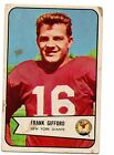 1954 Bowman Football Card #55 Frank Gifford-New York Giants