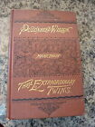 The Tragedy Of Pudd'nhead Wilson by Mark Twain. First Printing 1894