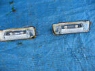 REAR NUMBER PLATE LIGHTS X PAIR from MERCEDES BENZ W210 E200 E CLASS