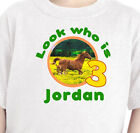 """Personalized """"HORSE BIRTHDAY PARTY"""" Youth T-Shirt, Infant Lap Tee Equine Birthda"""