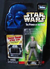 Star Wars 1998 Kenner Power of the Force Lobot with Freeze Frame Action Slide