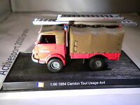 Del Prado World Fire Engines - FRANCE  1954 Camion Tout Usage 4x4 code46