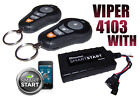VIPER 4103 /4103XV WITH SMART START MODULE CAR REMOTE START KEYLESS ENTRY