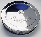 "EDELBROCK 14"" X 3 CHROME AIR CLEANER WINDSOR CLEVELAND 283 307 351 253 308 CHEV"
