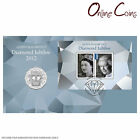 2012 Queen's Diamond Jubilee PNC - Features Commemorative 50c Coin