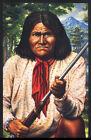 1993 USA APACHE INDIAN GUN Postcard 167