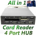 "3.5"" Front Panel All in One Internal TF SD Card Reader Writer 4 Port USB 2.0 Hub"