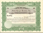 Middle Georgia Furniture Culloden Georgia stock certificate share